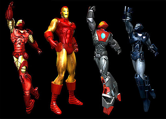 Top 10 Video Game Armor Suits - Iron Man, Marvel: Ultimate Alliance (PS3 / Xbox 360 / Wii)