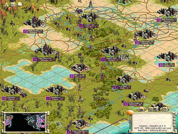 Top 10 Most Complex and Involved Games - Civilization
