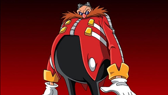 Top 10 Fat Bastards Found in Video Games - Dr. Ivo Robotnik, Sonic the Hedgehog