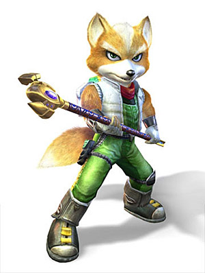 Top 10 Failed Video Game Hero Makeovers - Adventurer Fox McCloud, Star Fox Adventures (GameCube)