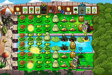 Top 10 Unlikeliest Weapons in Video Games - The Fruits and Veggies, Plants vs. Zombies