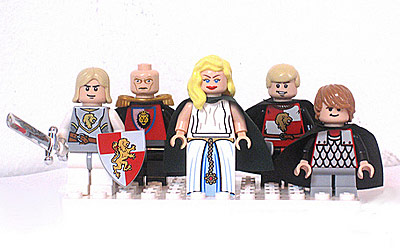 5 Franchises We'd Like to See Turned into LEGO Games - A Game of Thrones