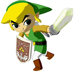 Top 10 Failed Video Game Hero Makeovers - Toon Link, The Legend of Zelda: Wind Waker