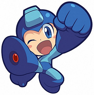 Top 10 Failed Video Game Hero Makeovers - Mega Man Powered Up (PSP)