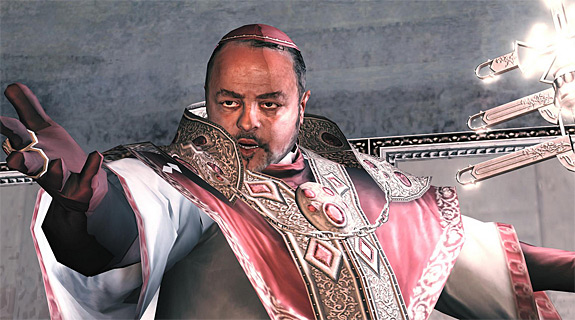 Top 10 Fat Bastards Found in Video Games - Rodrigo Borgia, Assassin's Creed 2 (PS3 / Xbox 360)