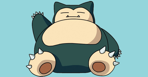 Top 10 Fat Bastards Found in Video Games - Snorlax, Pokémon Red and Blue (Game Boy)
