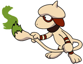 Top 10 Strangest Pokémon Ever Conceived - Smeargle (Gold / Silver / Crystal)