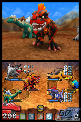 Fossil Fighters: Champions (Nintendo DS) Review Screenshots