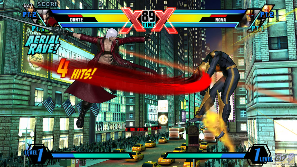 Ultimate Marvel Vs. Capcom 3 (PS Vita) Review Screenshots