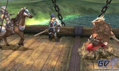 Fire Emblem: Awakening (Nintendo 3DS) Preview Screenshots