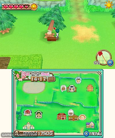 Harvest Moon: A New Beginning (3DS) Review Screenshots