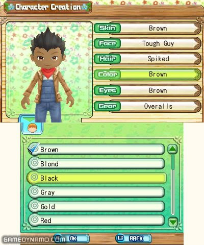 Harvest Moon A New Beginning (3DS) Hands-On Preview Screenshots