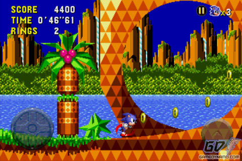 Sonic CD (iPhone, iPod Touch, iPad) Review Screenshots
