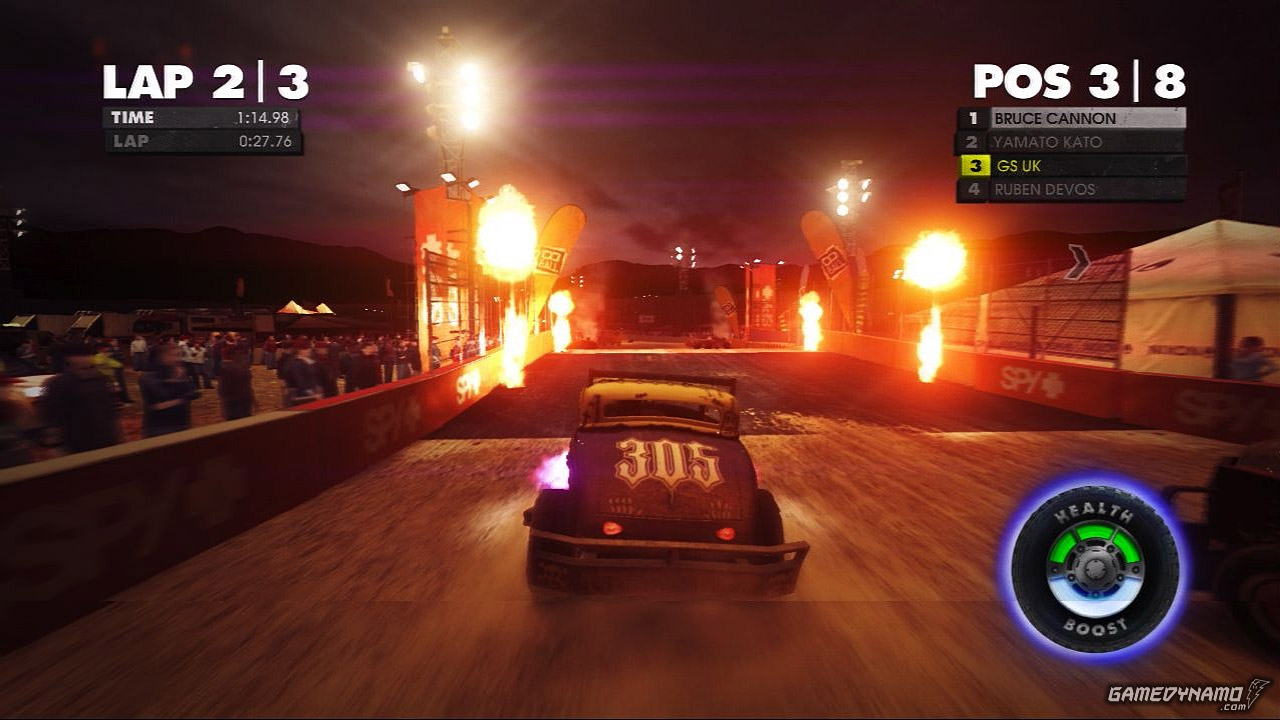 DiRT Showdown (PC, PS3, Xbox 360) Review Screenshots