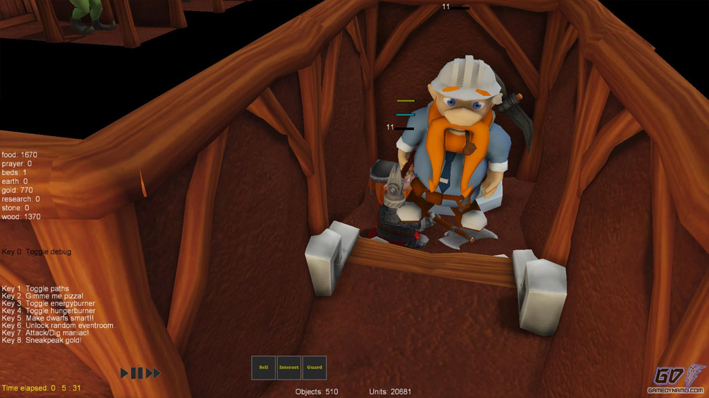 A Game of Dwarves (PC) Review Screenshots