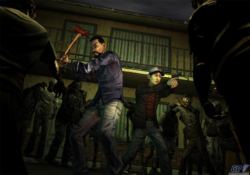 The Walking Dead: The Game screenshots (Telltale, Warner Bros., PC, PS3, Xbox, 360)