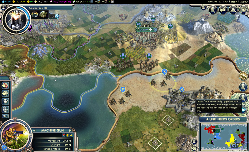 Sid Meier's Civilization V: Gods & Kings (PC) Review Screenshots