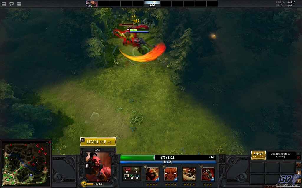 DOTA 2 (PC) Hands-On Preview Screenshots
