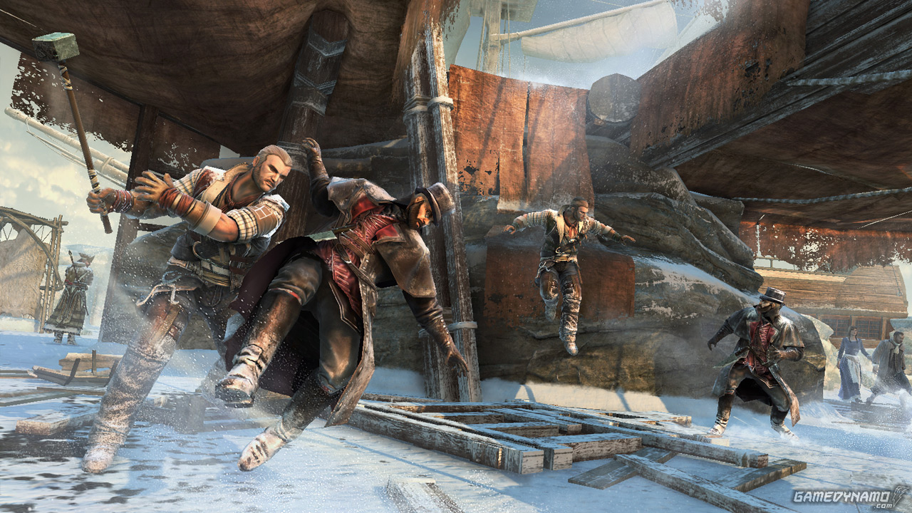Assassin's Creed III multiplayer screenshots (Ubisoft,PC, PS3, Xbox, 360, Wii U)