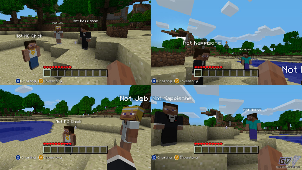 Minecraft ( Xbox 360) Review Screenshots