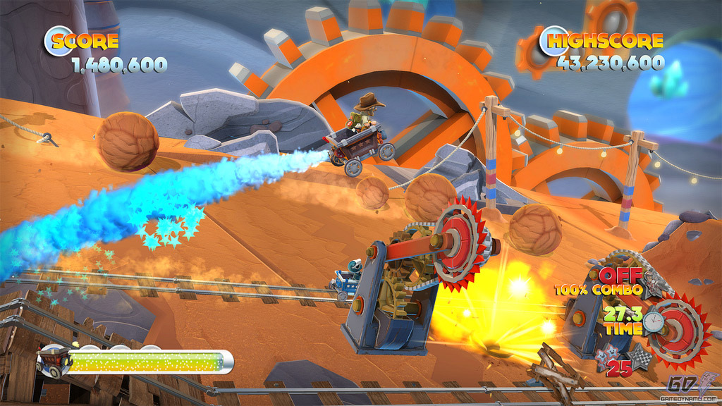 Joe Danger: The Movie (PC, PS3, Xbox 360) Preview Screenshots
