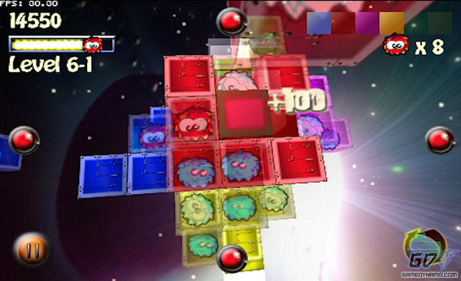 Fuzzy Cubes (iPhone - iOS) Interview Screenshots