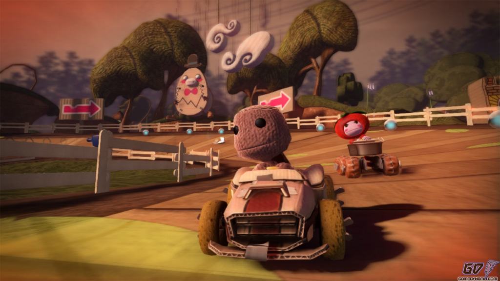 LittleBigPlanet Karting (PS3) Hands-On Preview Screenshots