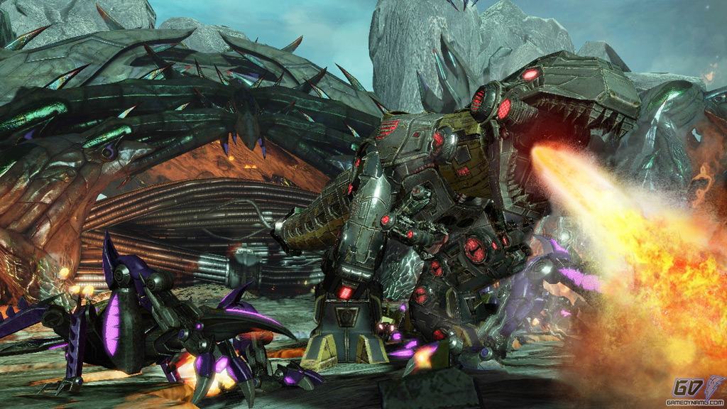 Transformers: Fall of Cybertron (PS3, Xbox 360) Preview Screenshots