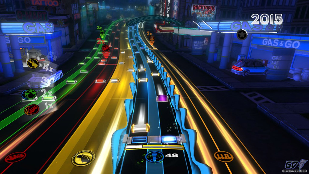 Rock Band Blitz ( PS3, Xbox 360) Preview Screenshots
