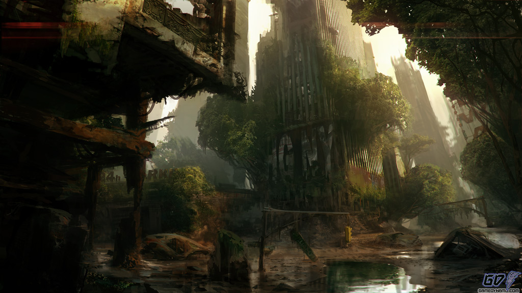 Crysis 3 screenshots and concept art for PC, PS3, and Xbox 360 (Crytek)