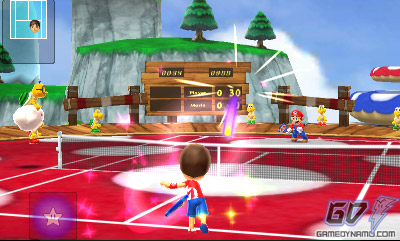 Mario Tennis Open (Nintendo 3DS) Preview Screenshots