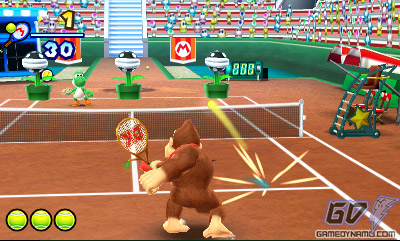 Mario Tennis Open (3DS) Review Screenshots