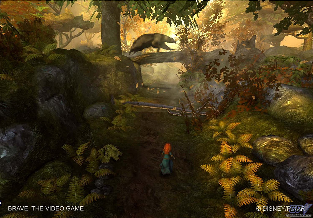 Brave The Video Game (PC, PS3, Xbox 360, Wii) Review Screenshots