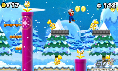 New Super Mario Bros. 2 (Nintendo 3DS) Review Screenshots