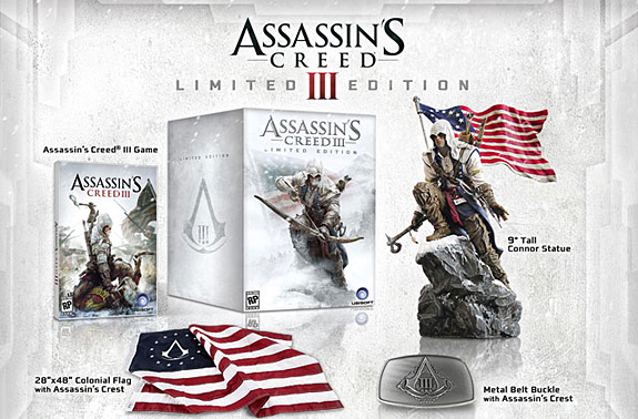 Assassin's Creed III Limited Edition and Fourth of July trailer (Ubisoft, AC3)
