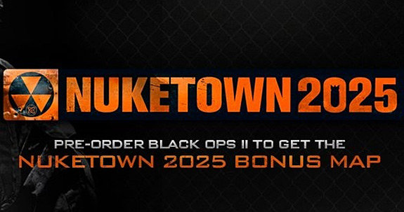Call of Duty: Black Ops II Nuketown 2025 map pre-order bonus (Activision, COD)
