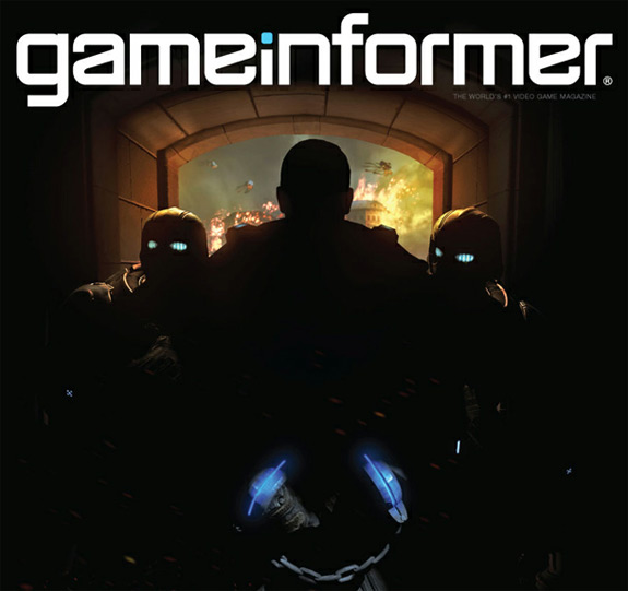 Gears of War Game Informer July 2012 cover (Epic, Microsoft, Xbox, 360)
