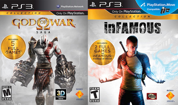 God of War Saga and inFAMOUS Collection coming to Sony PS3 in August
