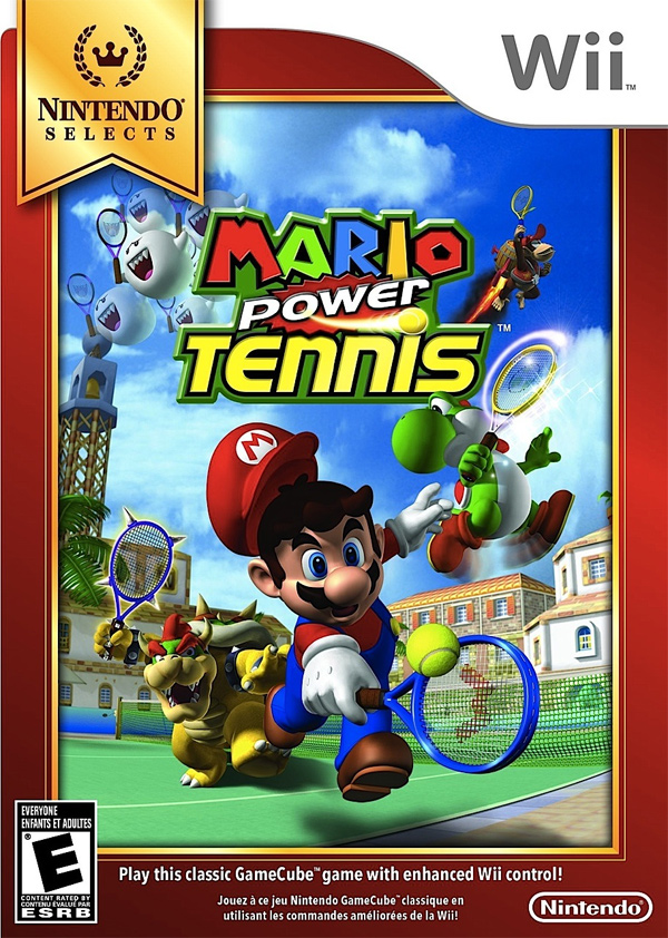 Nintendo Selects Pikmin 2 and Mario Power Tennis (Wii, New Play Control)