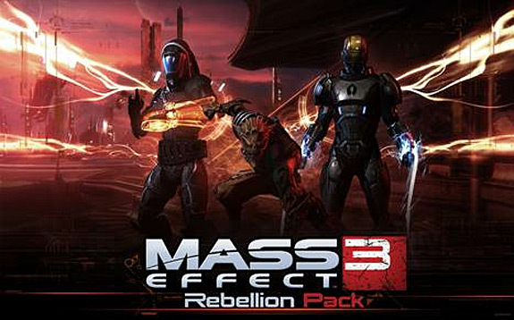 Mass Effect 3 Rebellion Pack multiplayer DLC (BioWare, EA, PC, PS3, Xbox, 360)