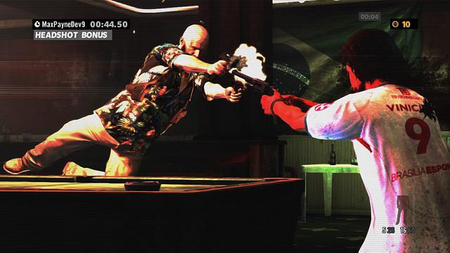 Max Payne 3 New York Minute Arcade mode screenshots (Rockstar Games, PC, PS3, Xbox, 360)