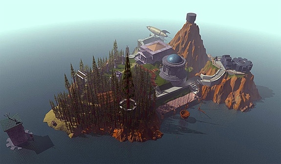 Myst on Sony PlayStation 3 and PSN