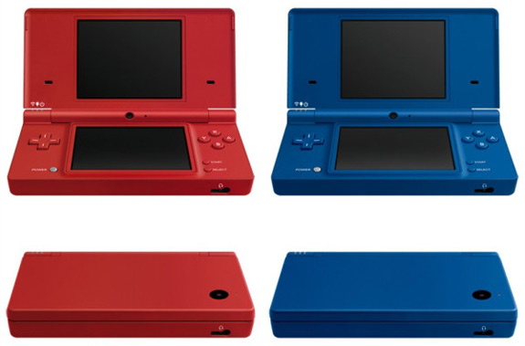 Red and Blue DSi colors are headed to retail (Nintendo)