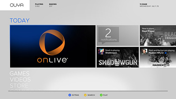 OUYA and OnLive partnership