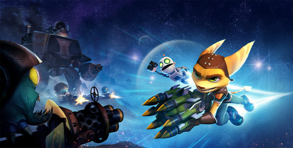 Ratchet & Clank: Full Frontal Assault has tower defense elements