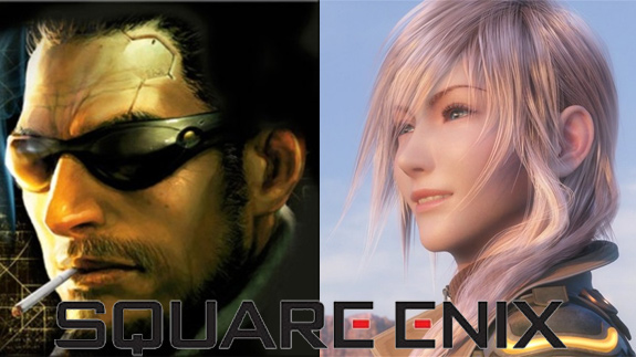 Square Enix profits in fiscal 2011 (Deus Ex, Final Fantasy, Sengoku)