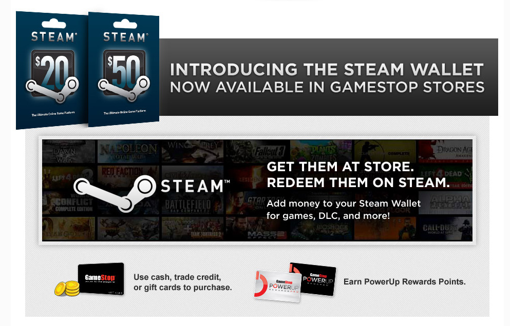 steam gift card sell