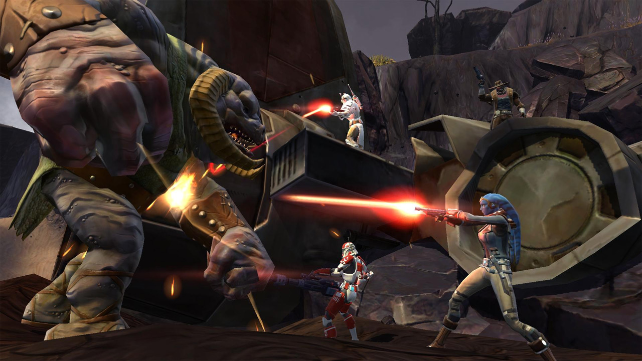 Star Wars: The Old Republic will have a free-to-play option this fall (SWTOR, BioWare, EA)