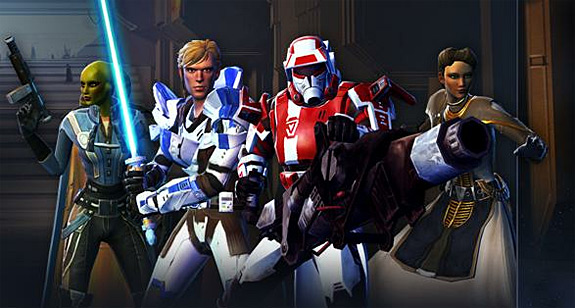 Star Wars: The Old Republic Game Update 1.3 Allies (SWTOR, BioWare, EA, LucasArts)