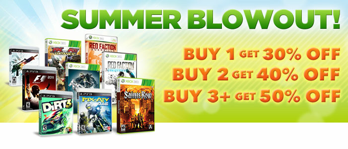 THQ Summer Blowout sale brings big savings on PS3 and Xbox 360 games